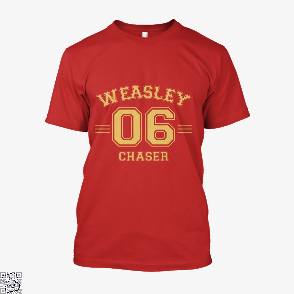 Weasley 6 Harry Potter Shirt - Men / Red / X-Small - Productgenjpg