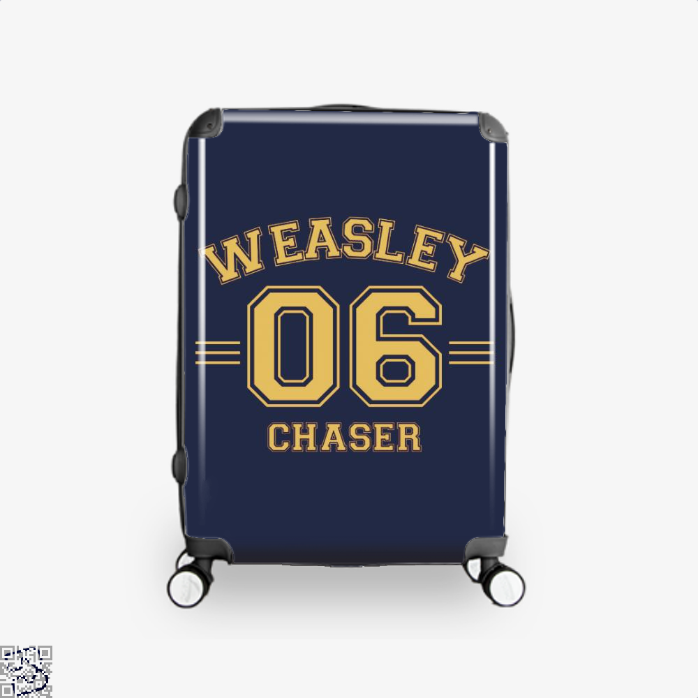 Weasley 6 Harry Potter Suitcase - Blue / 16 - Productgenjpg