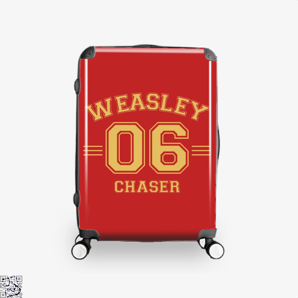 Weasley 6 Harry Potter Suitcase - Red / 16 - Productgenjpg