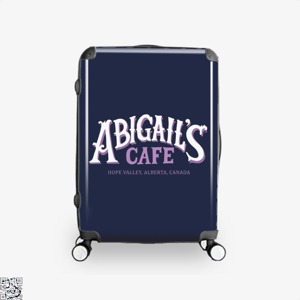 When Calls The Cafe Assassins Creed Suitcase - Blue / 16 - Productgenjpg