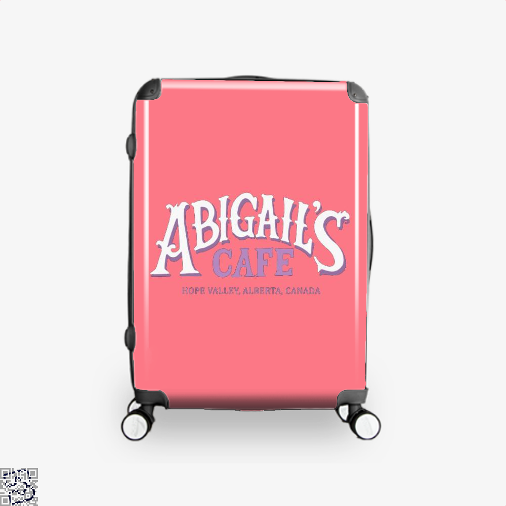 When Calls The Cafe Assassins Creed Suitcase - Pink / 16 - Productgenjpg