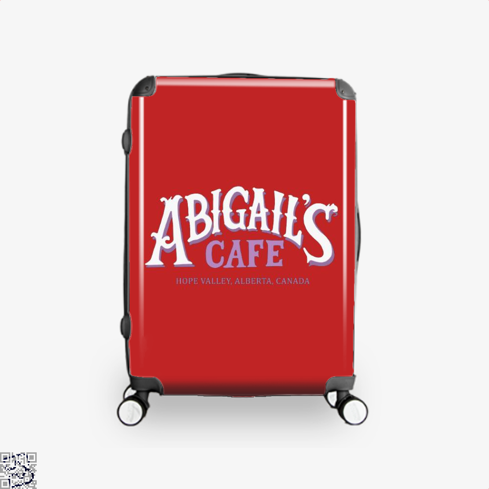 When Calls The Cafe Assassins Creed Suitcase - Red / 16 - Productgenjpg