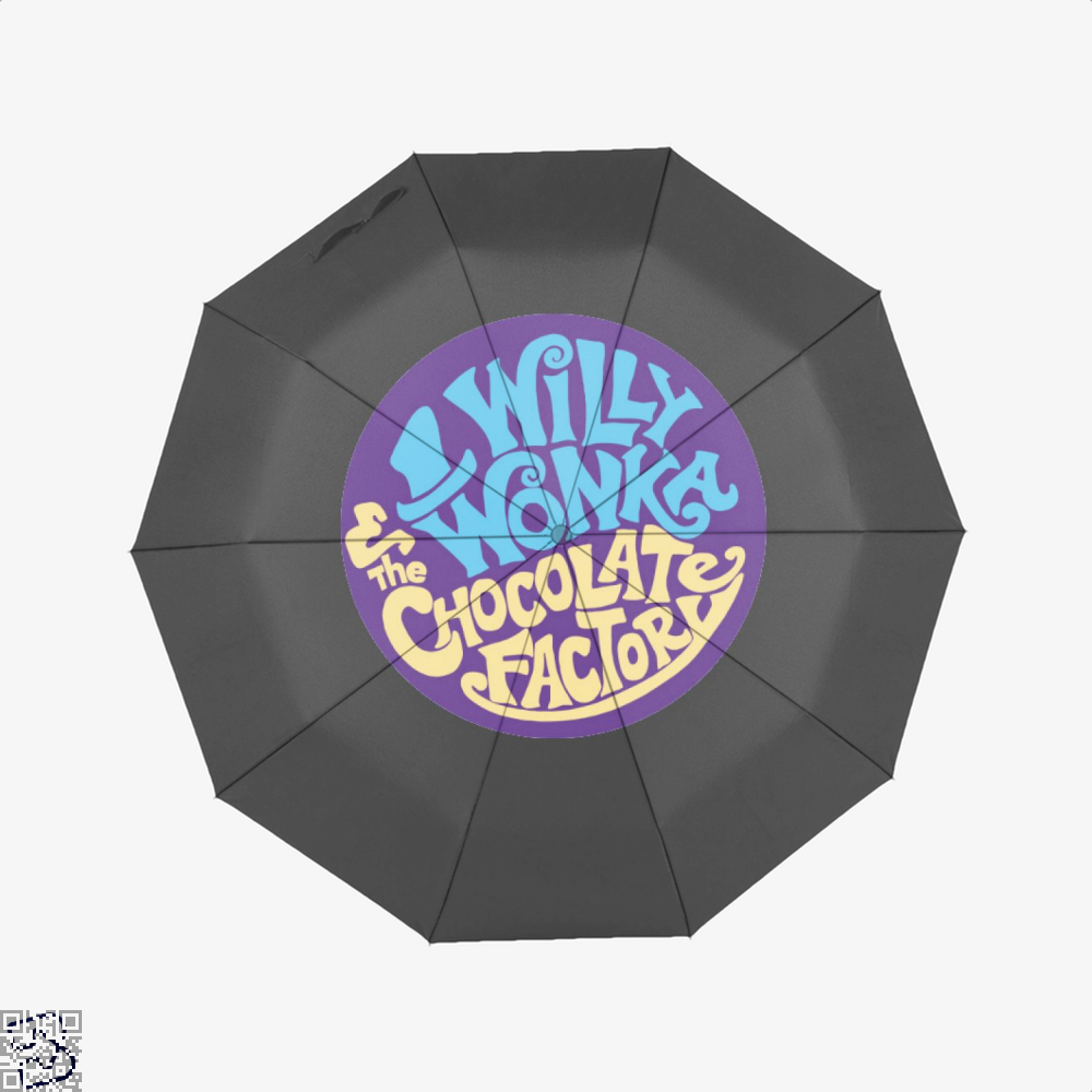 Willy Wonka And The Chocolate Factory Dragon Dungeon Umbrella - Black - Productgenjpg