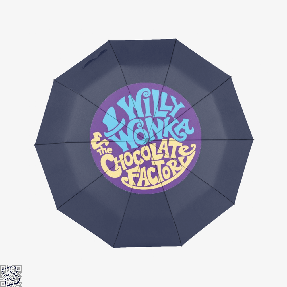 Willy Wonka And The Chocolate Factory Dragon Dungeon Umbrella - Blue - Productgenjpg
