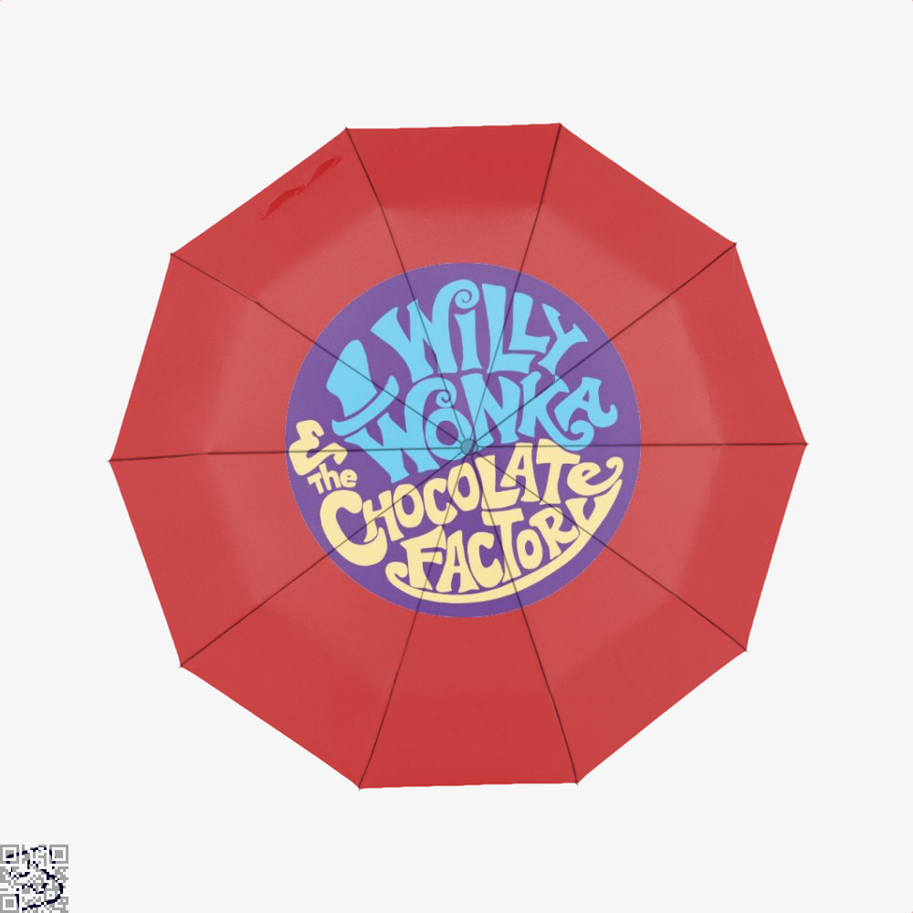Willy Wonka And The Chocolate Factory Dragon Dungeon Umbrella - Red - Productgenjpg