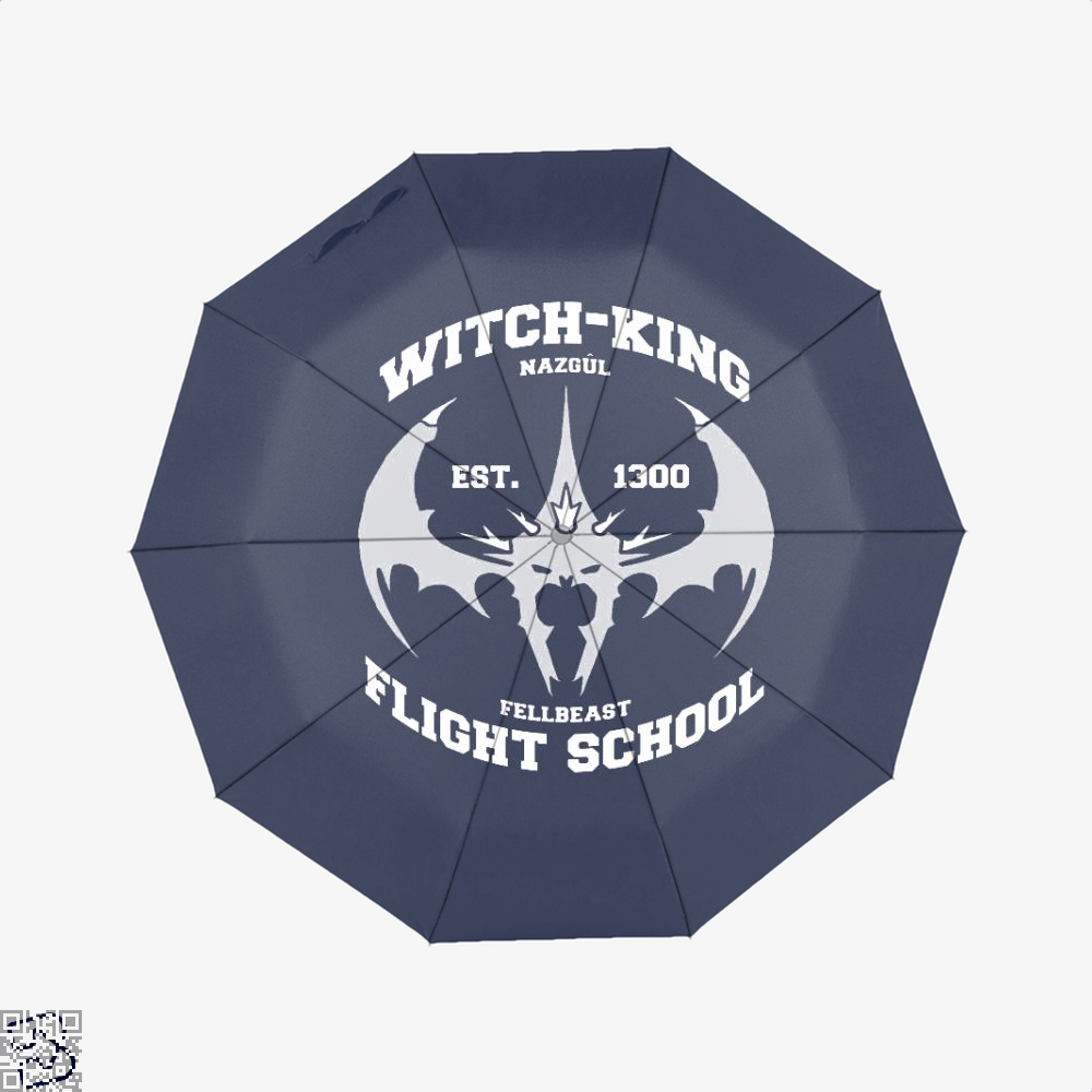 Witch King Nazgûl Flight School Lord Of The Rings Umbrella - Blue - Productgenjpg