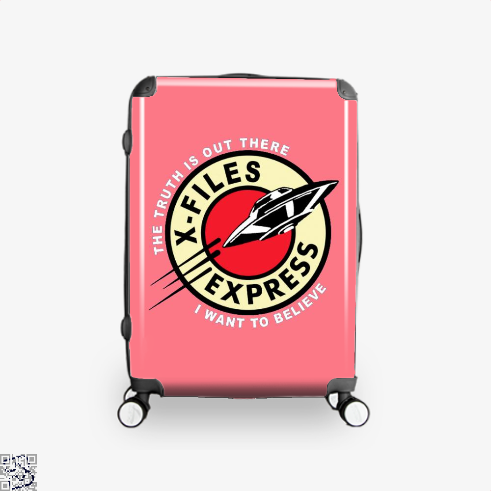 X Files Express Lord Of The Rings Suitcase - Pink / 16 - Productgenapi