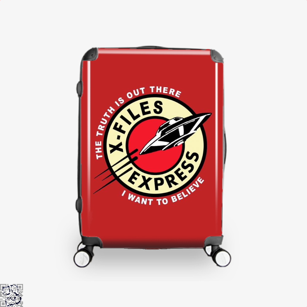 X Files Express Lord Of The Rings Suitcase - Red / 16 - Productgenapi