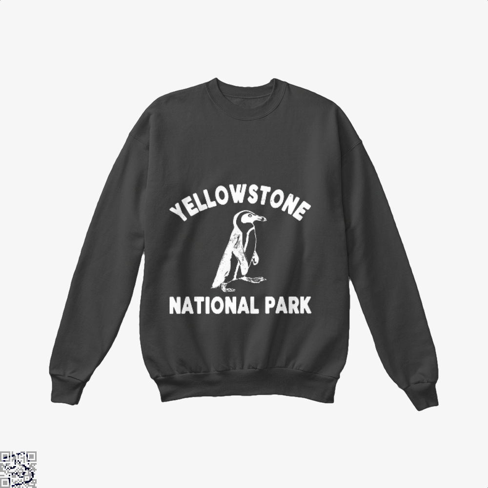 Yellowstone National Park Burlesque Crew Neck Sweatshirt - Black / X-Small - Productgenjpg