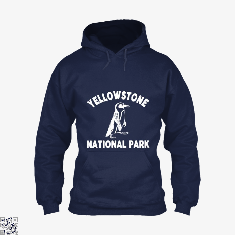 Yellowstone National Park Burlesque Hoodie - Blue / X-Small - Productgenjpg