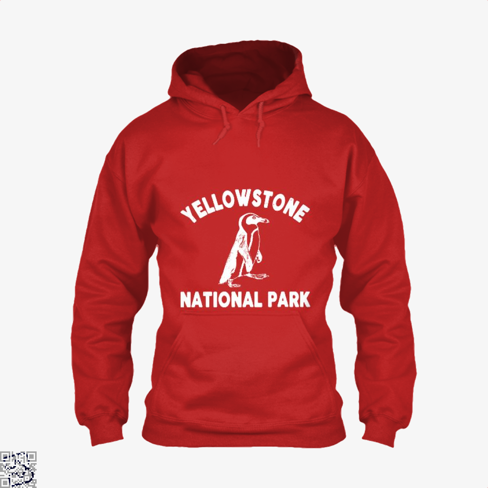 Yellowstone National Park Burlesque Hoodie - Red / X-Small - Productgenjpg