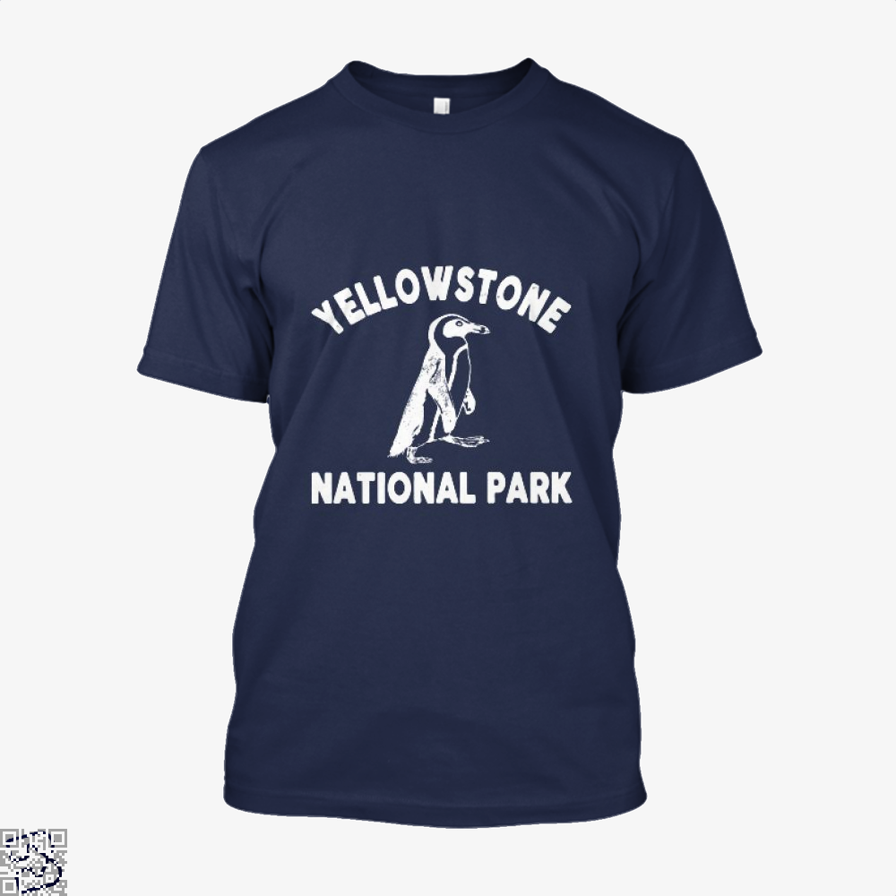 Yellowstone National Park Burlesque Shirt - Men / Blue / X-Small - Productgenjpg