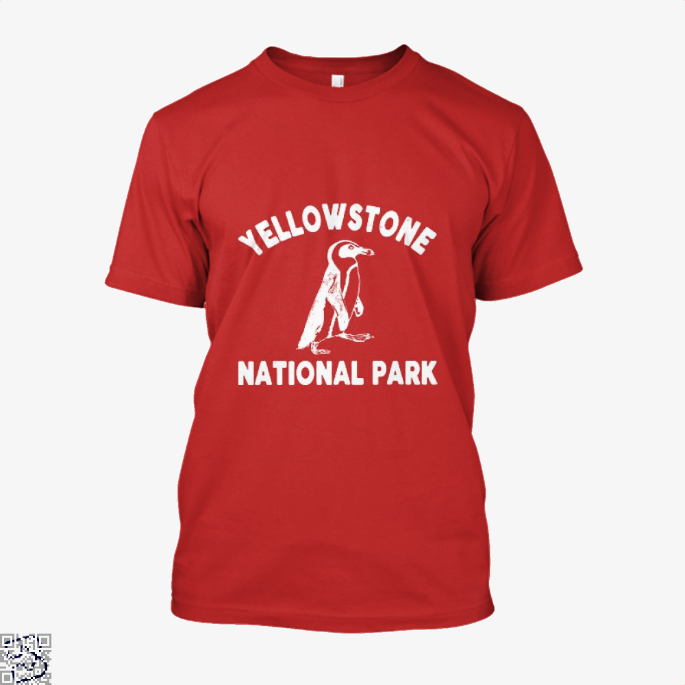 Yellowstone National Park Burlesque Shirt - Men / Red / X-Small - Productgenjpg