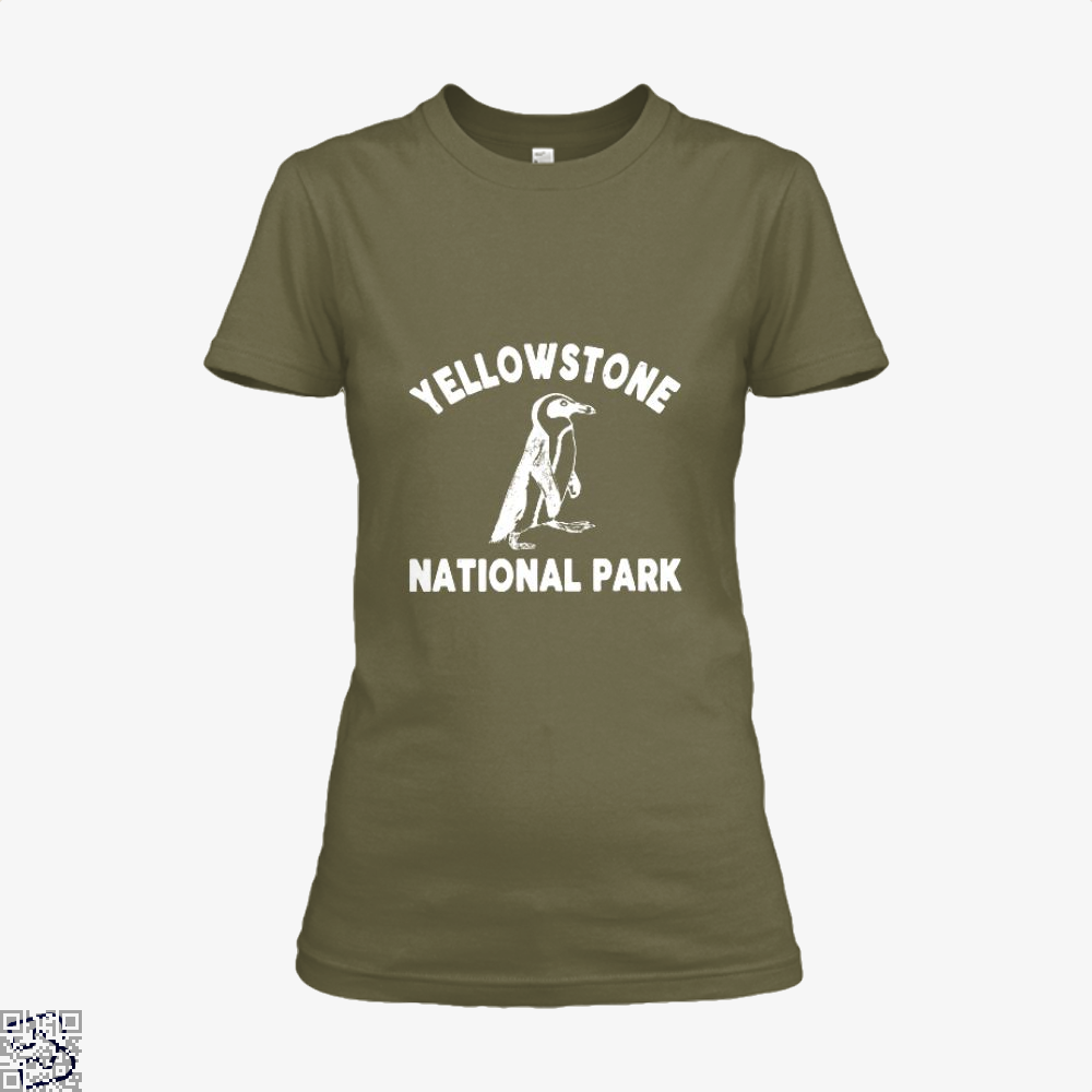 Yellowstone National Park Burlesque Shirt - Women / Brown / X-Small - Productgenjpg