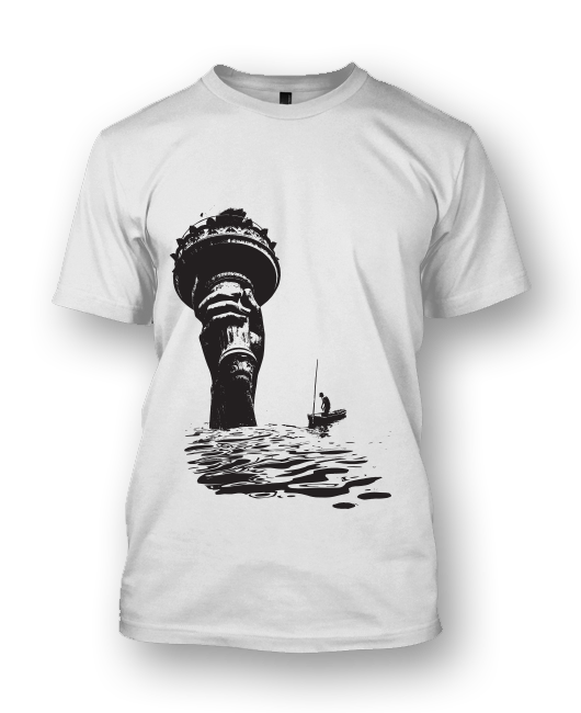 Sea Level Rising Tee - Avoid The Great Flood