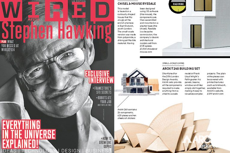 ARCKIT IN WIRED MAGAZINE