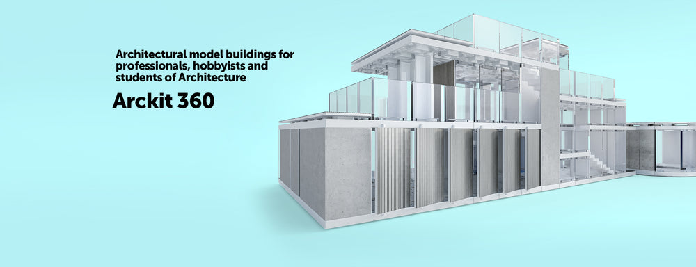 Arckit | Architectural Modelling Kits for Professionals and Kids