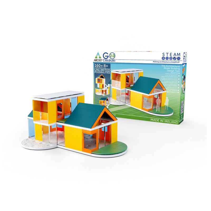 GO Colours 2.0, 160 piece Architectural Model Kit