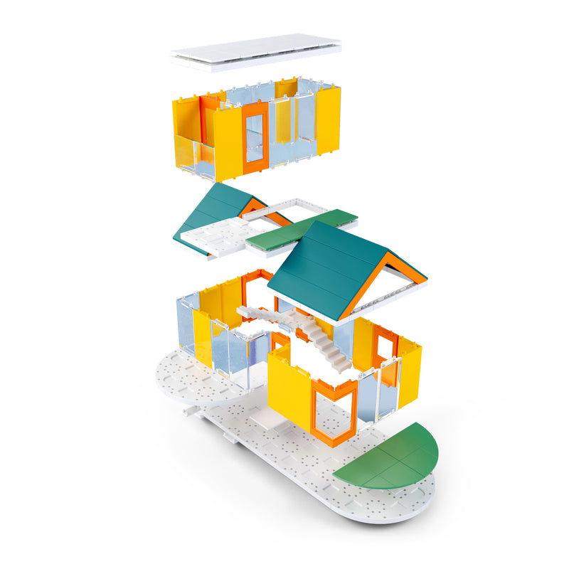 Go Colours 2.0 Kids Architect Scale Model Building kit