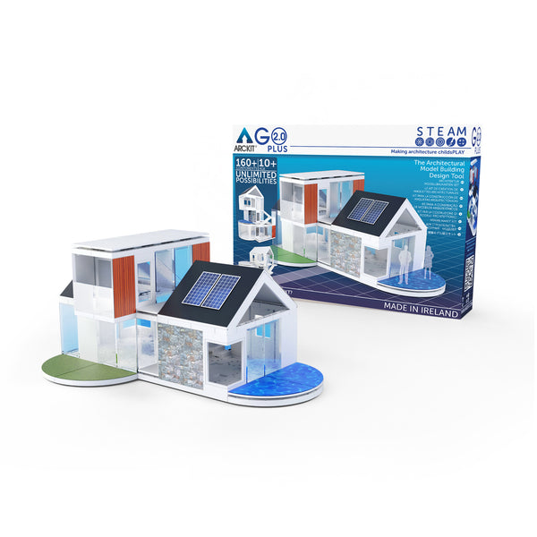 Arckit GO+ 2.0,160 piece Architectural Model Kit
