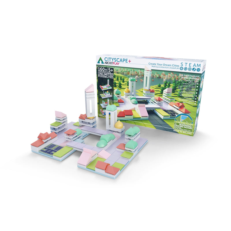 Cityscape+,  160 piece Architectural Model Kit