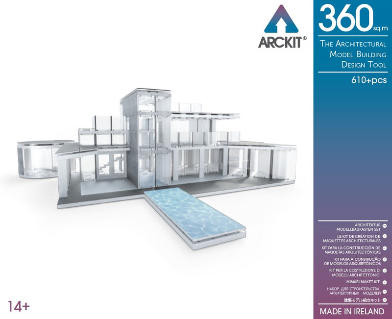 610+ piece Architectural Model Kit - Arckit 360