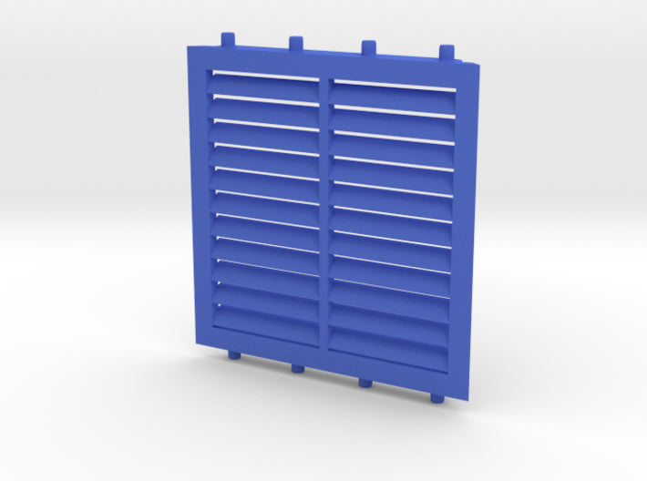 3D Double Louver 3d printed