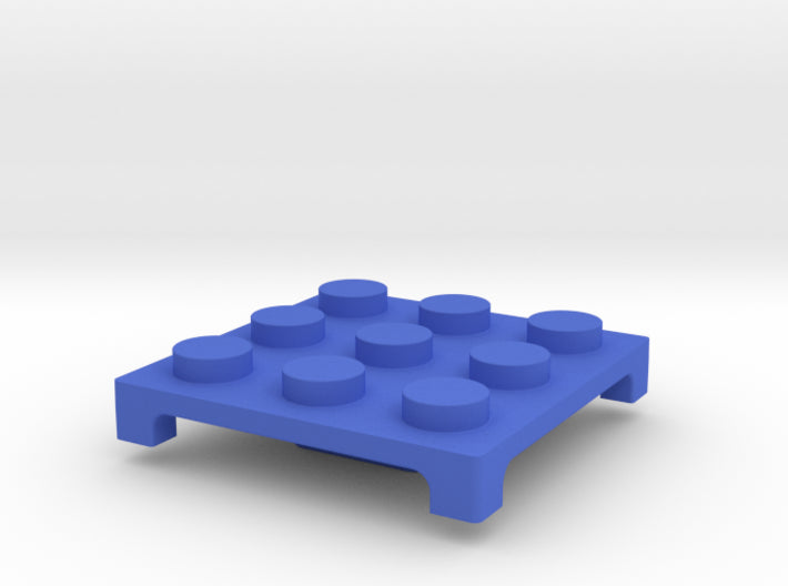 3D One-by-One Building Block Compatible Roof Tile 3d printed