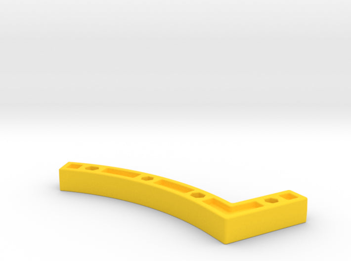 3D Curve Half to 90° Angle Wall Joint 3d printed