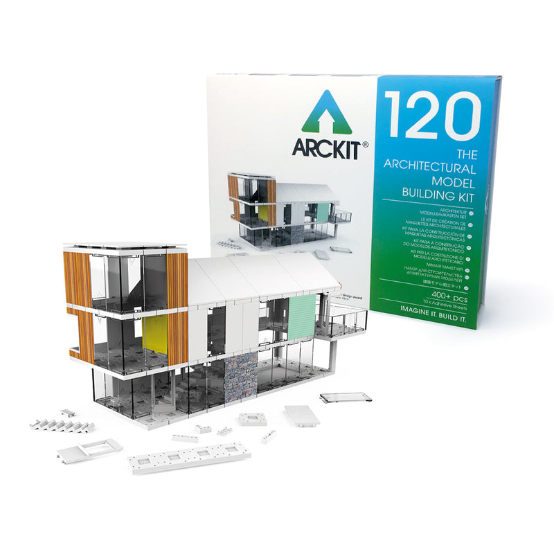 440+ piece Architectural Model Kit - Arckit 120