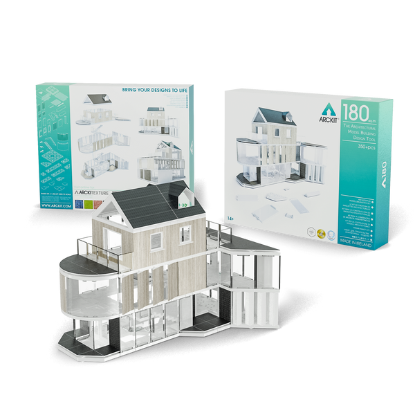 350+ piece Architectural Model Kit - Arckit 180