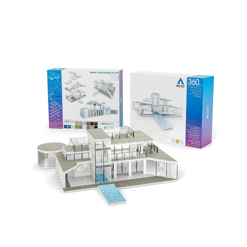 Bundle kit with a Masterplan and an Arckit 360