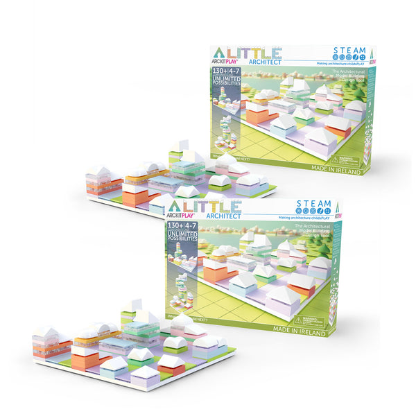 Bundle kit with 2 Little Architect scale model kits