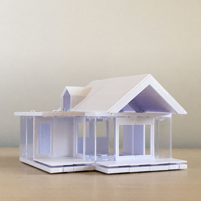 Mini Dormer 2.0, Kids Architect Scale Model House Building kit