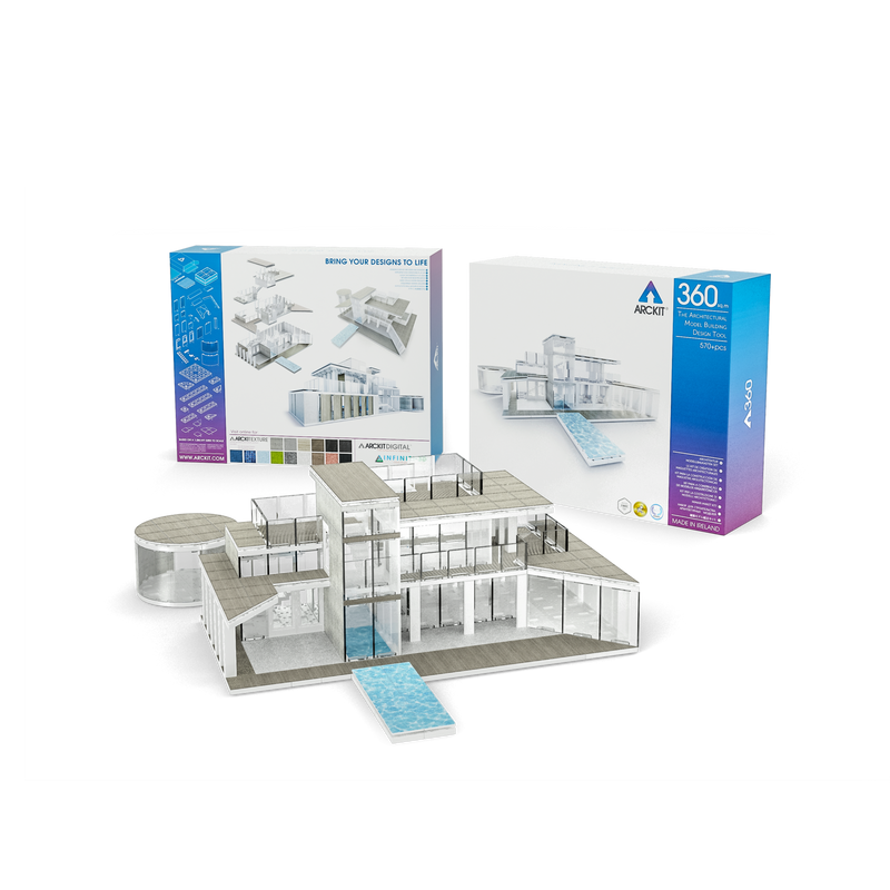 Bundle kit with a 360 and a 90 scale model kit