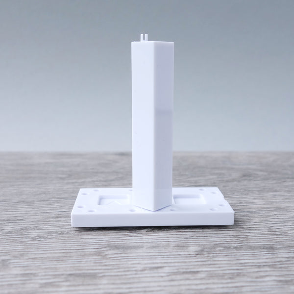 Two Pin White Corner Column 11.01