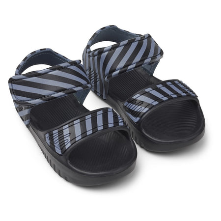 Liewood Blumer Blue wave/ Black Sandals