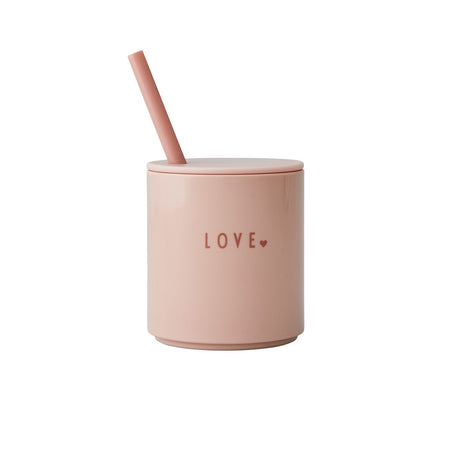 Design Letters - Nude Straw Lid uk for Tritan Cups
