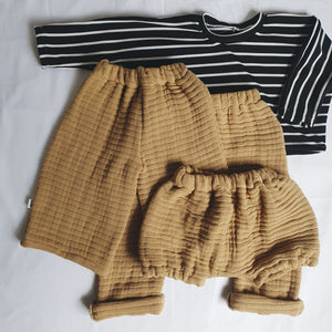 Sophie + Co/Baba of Mine Collab - Sienna Mustard Bloomers