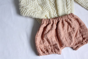 Sophie + Co/Baba of Mine Collab - Blush Pink Bloomers