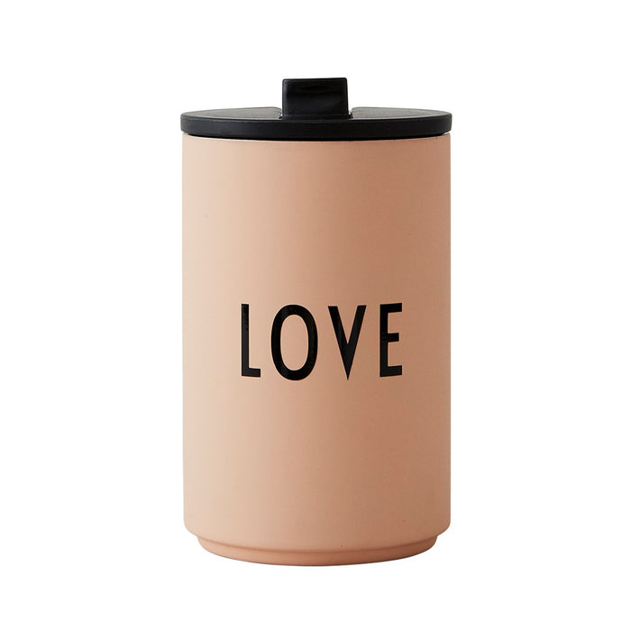 Design Letters Thermo Insulated Cup uk - Nude Love