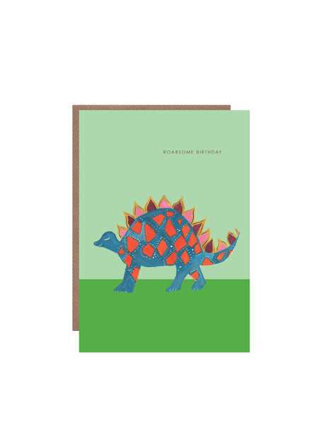 Dinosaur Roar birthday card