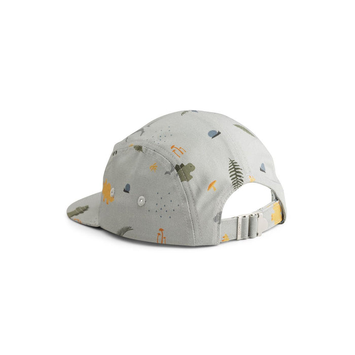 Liewood Rory Cap - Dino Blue Mix