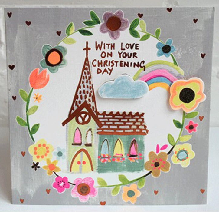 WITH LOVE ON YOUR CHRISTENING DAY Card