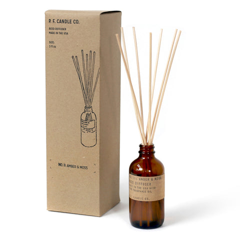NO. 11: AMBER & MOSS - REED DIFFUSER