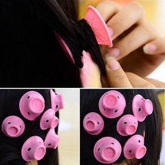 Soft Silicone No Heat Curlers