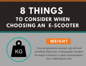 [INFOGRAPHIC] 8 Things to Consider When Choosing an E-Scooter