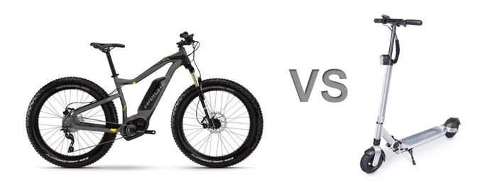 Which one to choose: E-Bikes or E-Scooters?