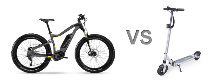 Thailand e-bike vs e-scooter which is better