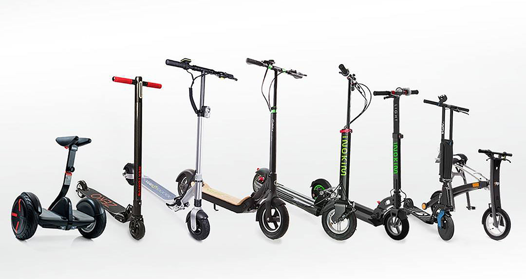Electric scooter corporate rental services